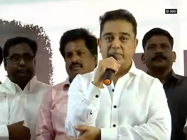 Makkal Needhi Maiam (MNM) founder and actor Kamal Hassan (File photo)