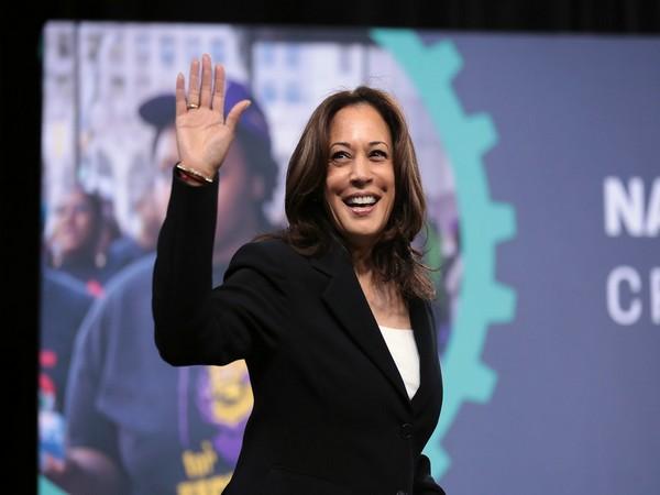 Democratic Vice Presidential nominee Kamala Harris.