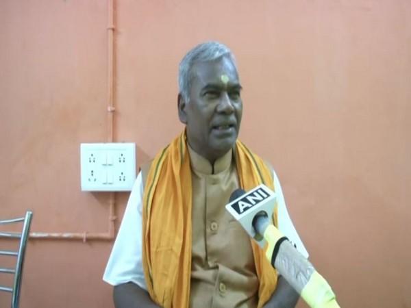 Ram Janmabhoomi Teerth Kshetra Trust member Kameshwar Chaupal  (File Photo)