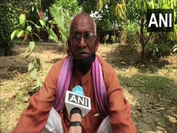 A farmer speaking to ANI in Kanpur, Uttar Pradesh. [Photo/ANI]