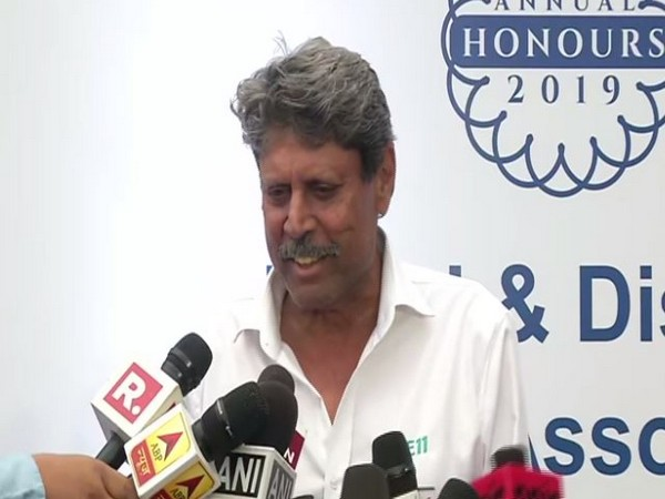Former India cricketer Kapil Dev