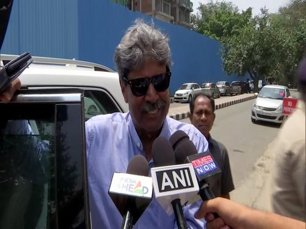 Former India cricketer Kapil Dev
