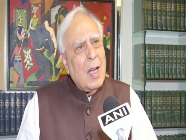 Congress MP Kapil Sibal speaking to ANI on Friday. Photo/ANI