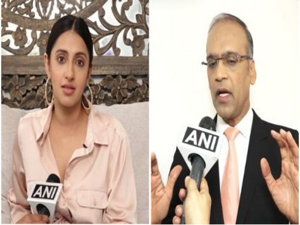 Actor Aakansha Ranjan Kapoor and Critic Komal Nahta (Photo/ANI)