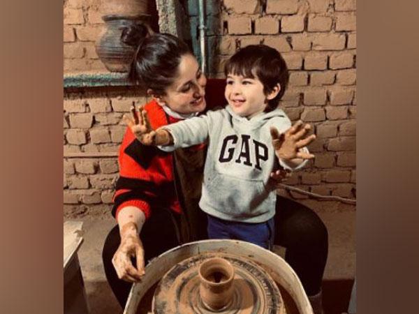 Actor Kareena Kapoor Khan with son Taimur Ali Khan (Image Source: Instagram)