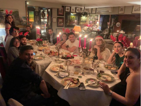 Kareena Kapoor's Christmas eve celebrations (Image Source: Instagram)