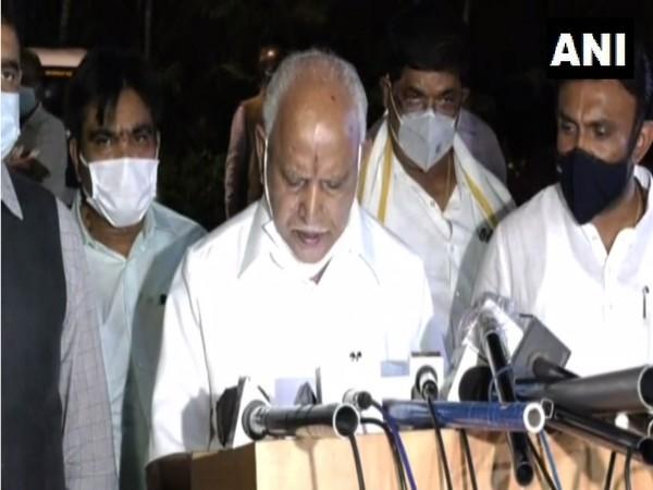 Karnataka Chief Minister, BS Yediyurappa (Photo/ANI)