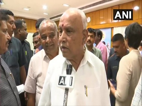 Chief Minister BS Yediyurappa. Photo/ANI
