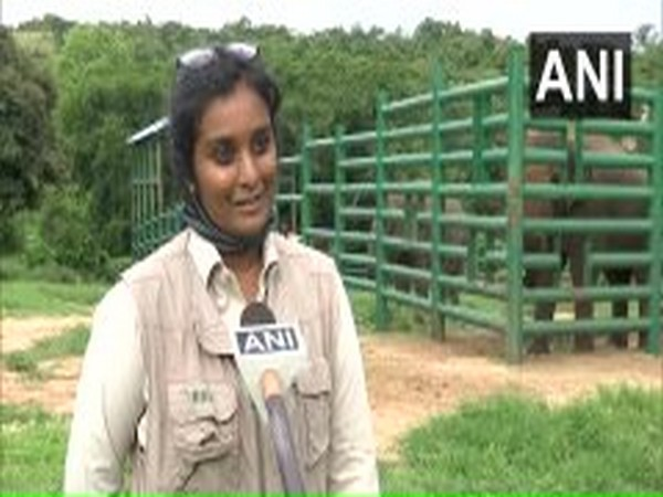 Education Officer, Bannerghatta Biological Park, Karnataka speaking to ANI on Friday. Photo/ANI