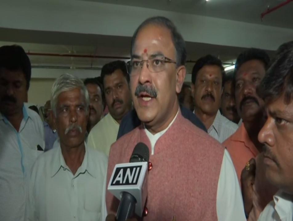 BJP MLA Arvind Limbavali talking to ANI on Monday. Photo/ANI