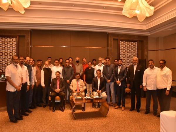 Visual of Christian community meeting presided by C.N. Ashwatha Narayana (Photo/Twitter)