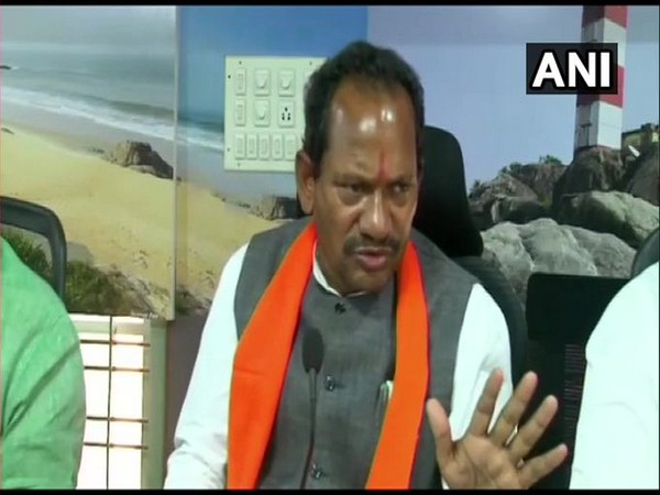 Karnataka Minister for Animal Husbandry Prabhu B Chauhan (Photo/ANI)