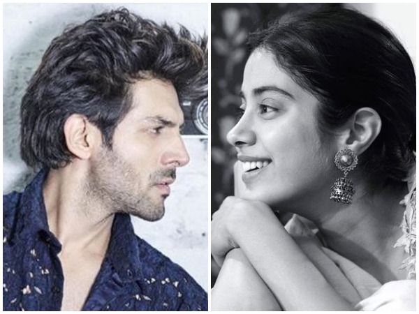 Kartik Aryan and Janhvi Kapoor (Image courtesy: Instagram)