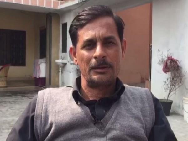 Kartik Tyagi's father Yogender Tyagi