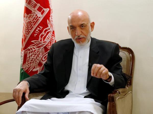 Afghan former President Hamid Karzai