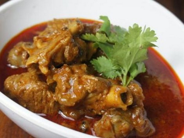 Kashmiri rogan josh also called rogan ghosht.