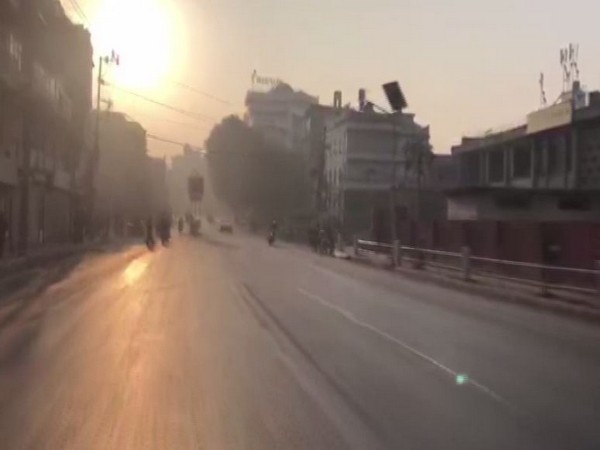 Deserted roads of Kathmandu amid a general strike called by NCP rival faction (ANI)