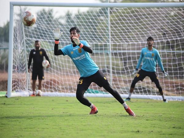 Laxmikant Kattimani (Photo/ Hyderabad FC Media)
