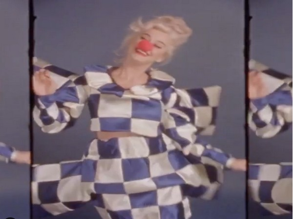 A still from the video shared by singer Katy Perry (Image source: Instagram)