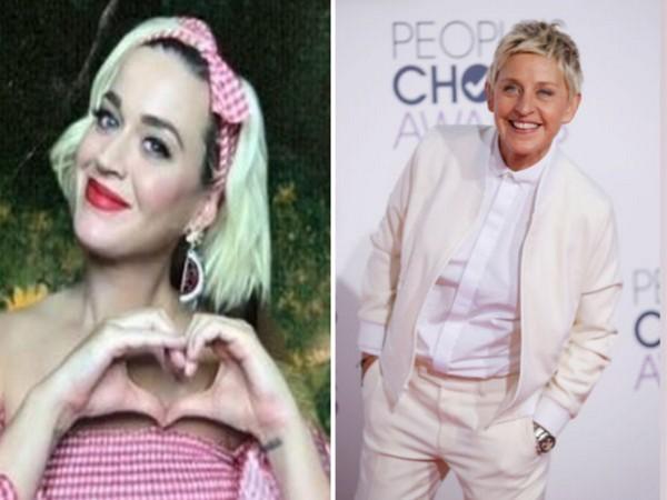 Singer Katy Perry and American comedian Ellen DeGeneres (Image source: Instagram)