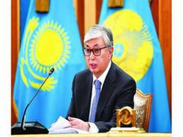 Kazakhstan President Kassym-Jomart Tokayev