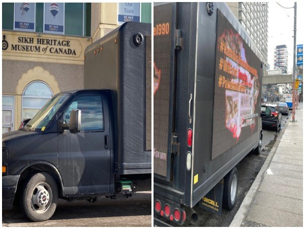 Indo-Canadian Kashmir Forum and Hindu Forum Canada organised a LED Truck advertisement campaign to commemorate the Kashmiri Hindu Genocide.