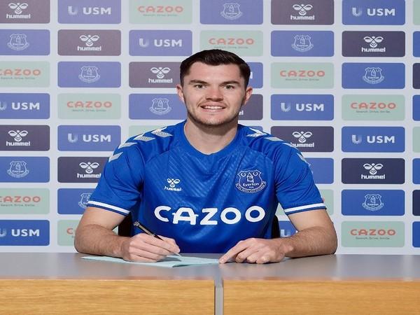 England defender Michael Keane (Photo/Everton Twitter)