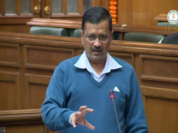 Chief Minister Arvind Kejriwal speaking in Delhi Assembly on Wednesday.