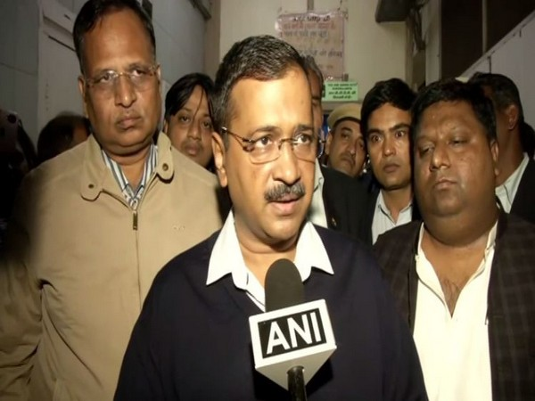 Delhi Chief Minister Arvind Kejriwal speaking to ANI in New Delhi on Sunday.