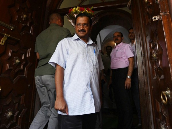 Delhi Chief Minister Arvind Kejriwal in Parliament on Friday