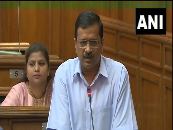 Delhi Chief Minister Arvind Kejriwal speaking in the Legislative Assembly on Thursday.