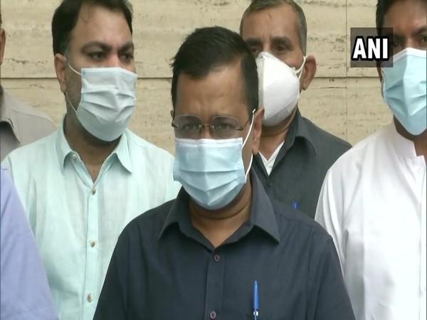 Delhi Chief Minister, Arvind Kejriwal (Photo/ANI)