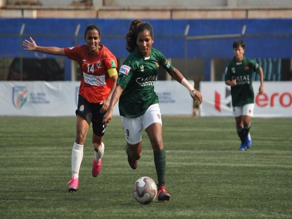 Asha Kumari and Techi Akung scored one goal each for Kenkre. (Photo/Indian Football Team Twitter)