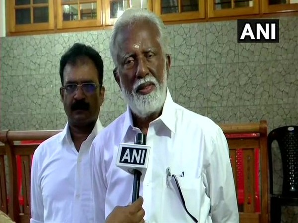 Kerala BJP leader Kummanam Rajasekharan (File photo)