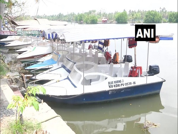 Visual of Shikara in Kochi (Photo/ANI)