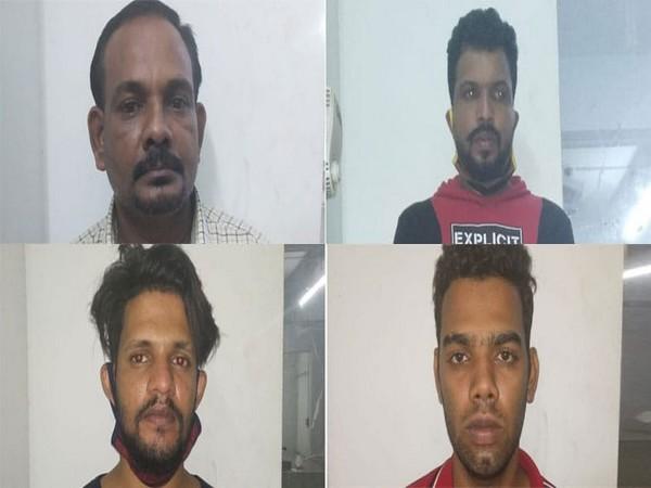 Sarath, Ashraf, Rafeeq and Ramesh