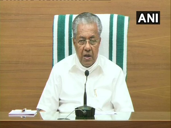 Chief Minister Pinarayi Vijayan speaking during press conference in Kerala on Thursday. PhotoANI