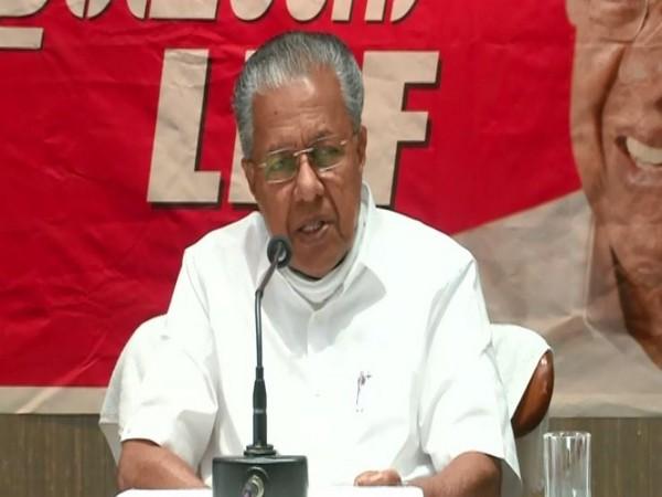 Kerala Chief Minister, Pinarayi Vijayan (Photo/ANI)