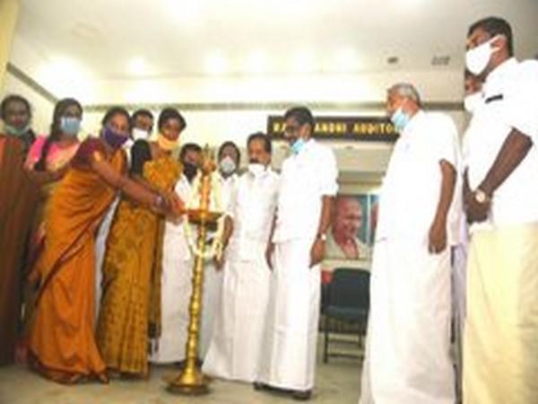 Kerala Congress inaugurates its Transgenders' wing in Thiruvananthapuram. Photo/ANI