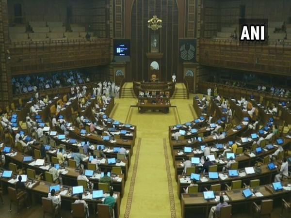 Visual of Kerala Assembly Session (Photo/ANI)