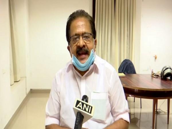 Kerala Opposition leader Ramesh Chennithala speaking to ANI on Sunday. Photo/ANI