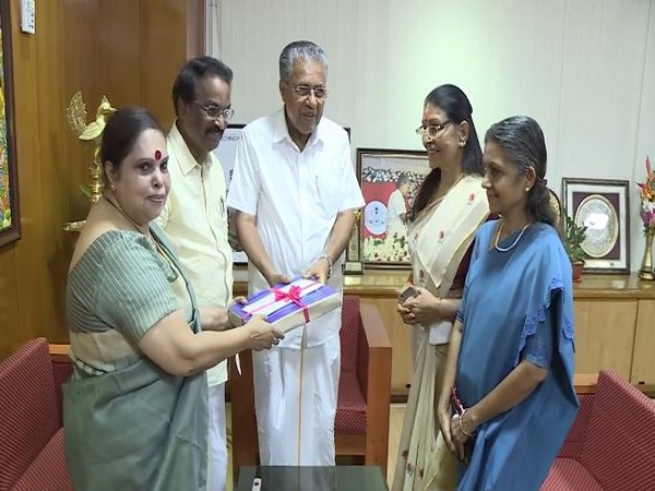Justice Hema Commission submitted its report to Chief Minister P Vijayan on Tuesday. Photo/ANI