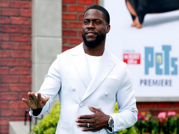 Comedian-actor Kevin Hart