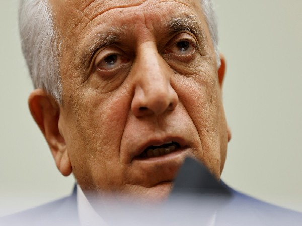 US Special Representative for Afghanistan Reconciliation Zalmay Khalilzad.