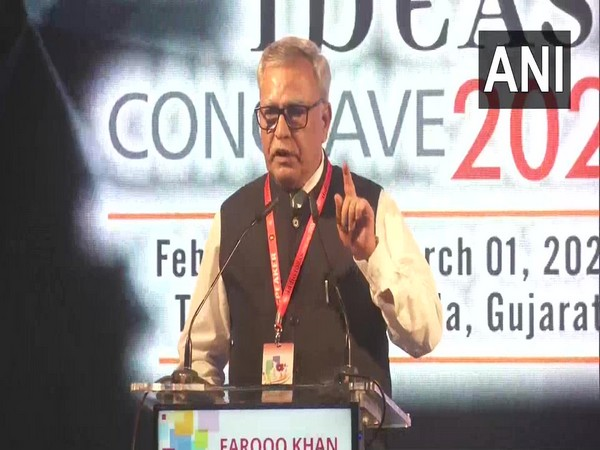 Farooq Khan, Advisor to Jammu and Kashmir Lieutenant Governor GC Murmu, at the India Ideas Conclave 2020.
