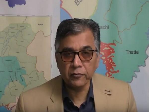 Chairman of, Voice of Karachi, Nadeem Nusrat