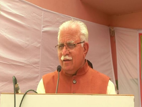 Chief Minister Manohar Lal Khattar