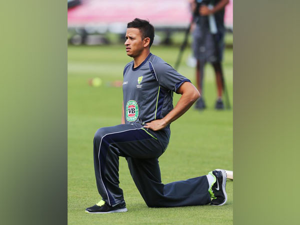 Australia's opening batsman Usman Khawaja