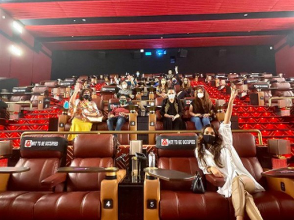 Actor Kiara Advani at film theatre (Image Source: Instagram)