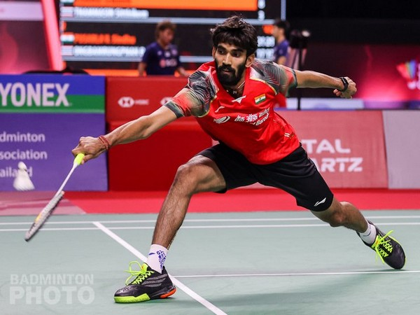 Indian shuttler Kidambi Srikanth (Photo/ BAI Media Twitter)